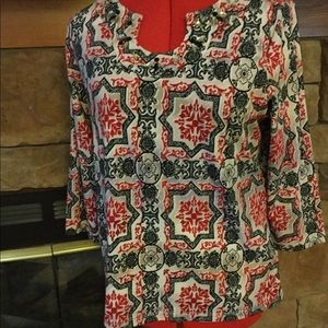Hearts of Palm Blouse PM